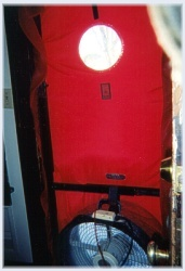 This Diagnostic Tool Also Known As A Blower Door Tests The Home For Air Leaks And/Or If The Home Is Too Air Tight ~ Click for larger image