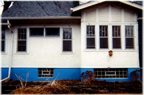 Stucco Home That Was Insulated From The Outside ~ Patches Blend In With The Original Stucco And Can Barely Be Seen